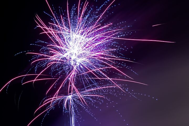 Fireworks - Purple Haze - S. Lyons Photography
