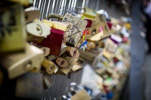 Love Padlock Paris