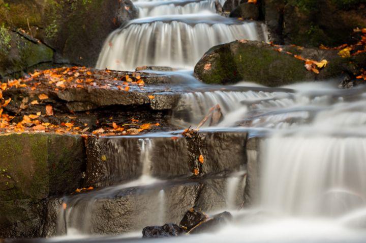 Autumn Waterfall - S. Lyons Photography