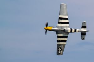 Mustang Flyby D-Day - S. Lyons Photography