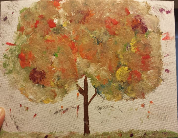 Colourful Tree - Karalee's paintings