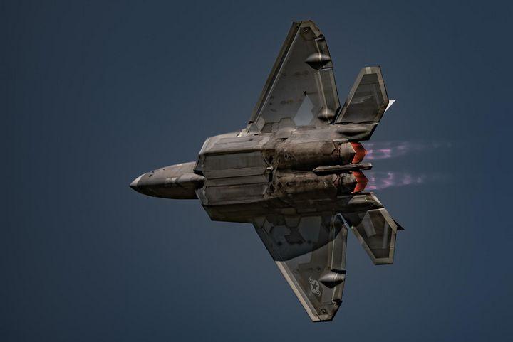 F22 Raptor - David Bearden