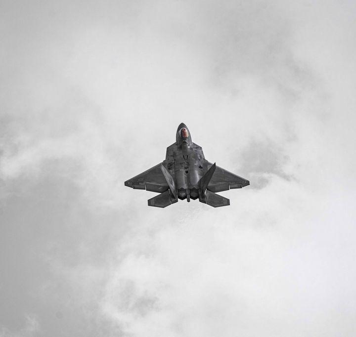 F 22 Raptor at Chicago Air Show - David Bearden