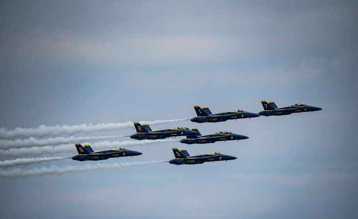 Blue Angels at Chicago Air and Water - David Bearden