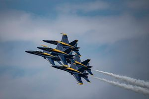 Blue Angel formation flying