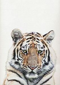 Tiger Print, Tiger Wall Art Decor - Art Print Studio