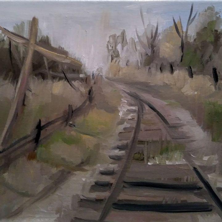 Rugged Tracks - Joyce Jenner Fine Art