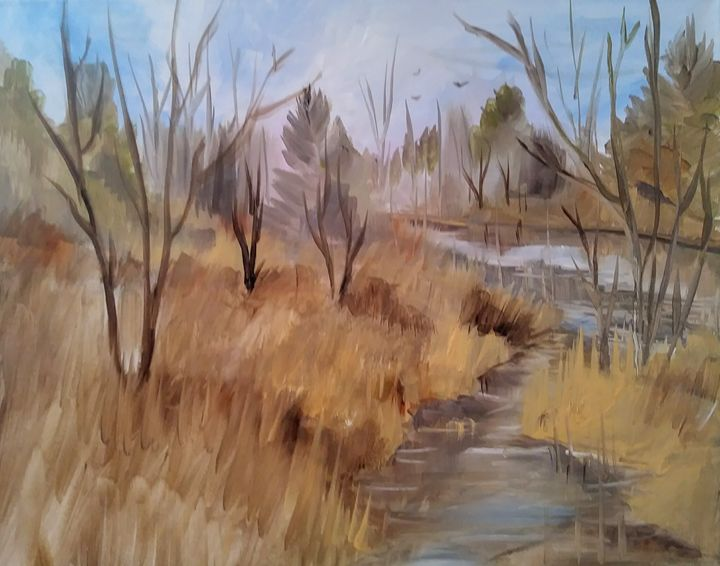 Quiet Stream - Joyce Jenner Fine Art