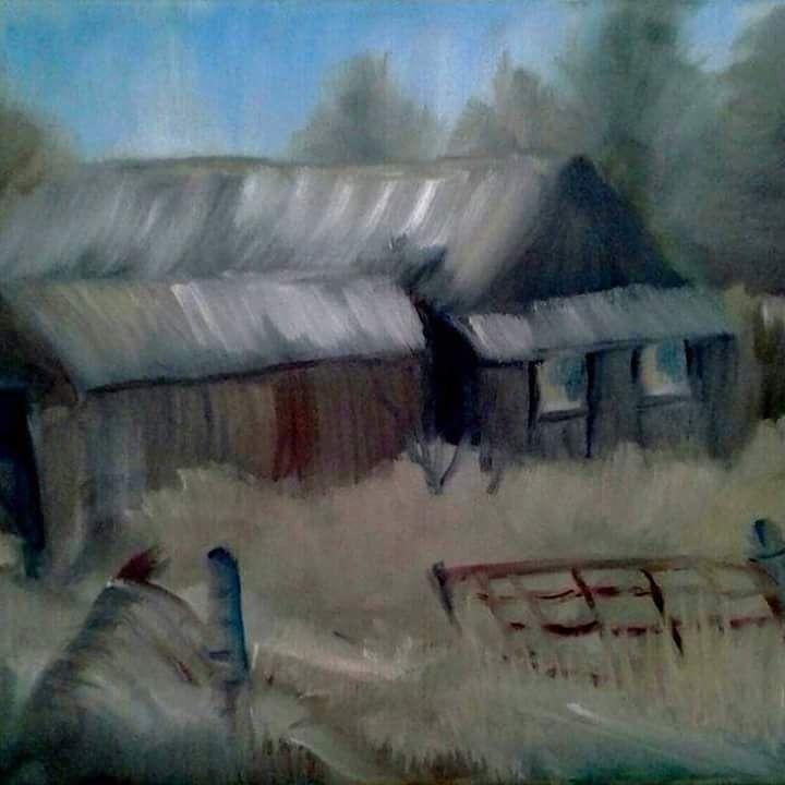 Barn to explore - Joyce Jenner Fine Art