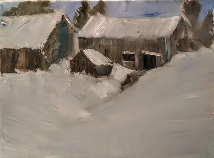 Winter's Back - Joyce Jenner Fine Art