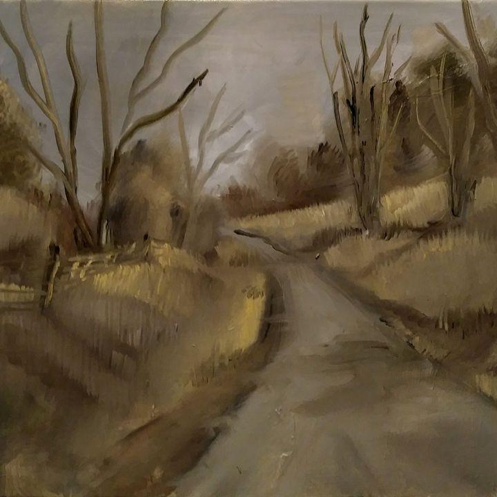 Old Onondaga  Road - Joyce Jenner Fine Art