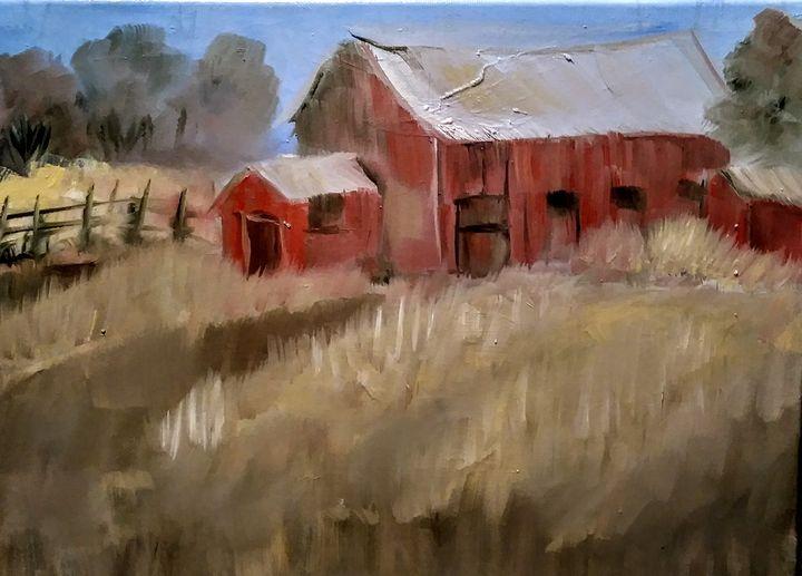 Red - Joyce Jenner Fine Art