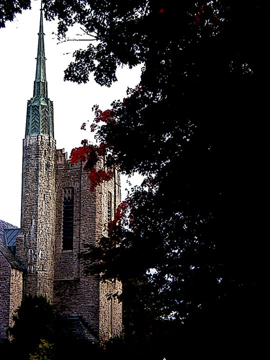 St. Lawrence University Chapel - JonesArtWorkS