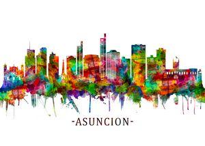 Asuncion Paraguay Skyline