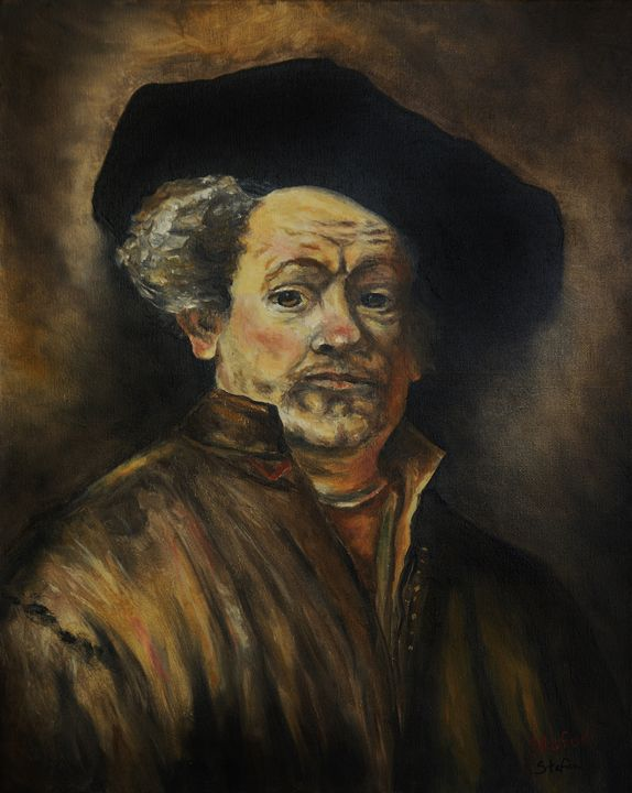 Quick Study of Rembrandt - Stefon Marc