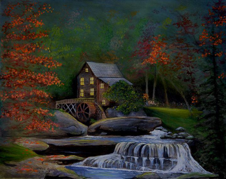Glade Creek Grist Mill - Stefon Marc