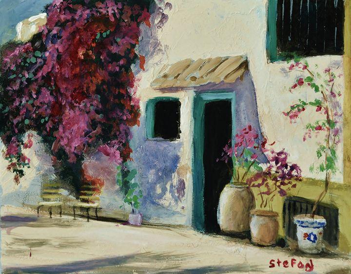 Spanish Courtyard - Stefon Marc