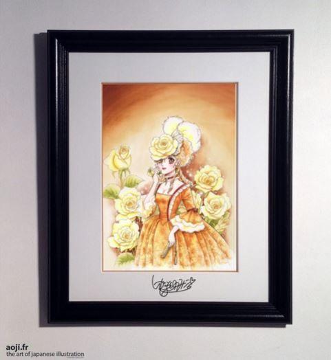 Impress Josephine - Rose - AOJI - the Art Of Japanese Illustration