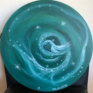 Malachite Spirit painting