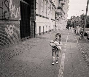 Berlin: child and doll