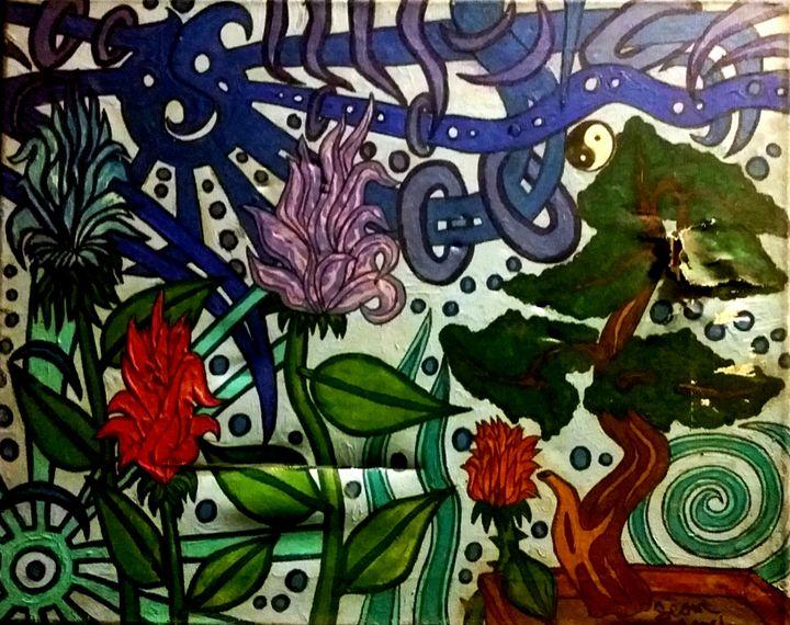 Flower Bonsai - Sean David Crisci