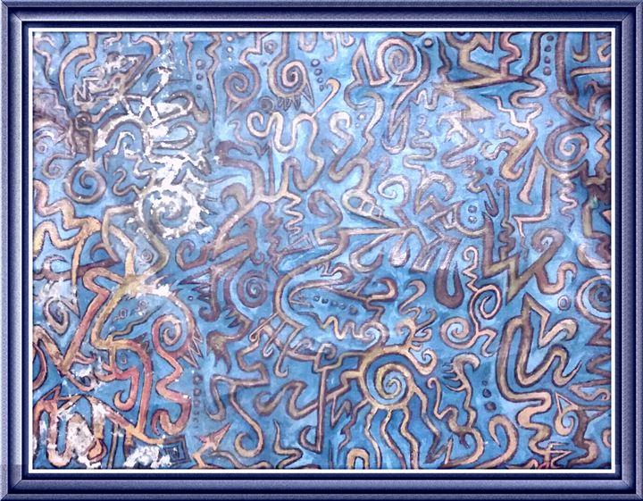 Orange Water Maze - Sean David Crisci