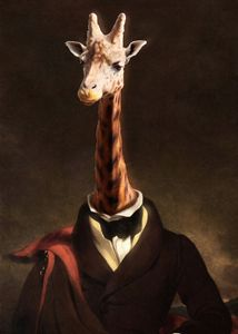 The Gentleman Giraffe