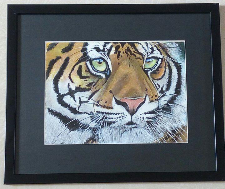 Acrylic on A4 paper - Sudhir Bhokare's artwork