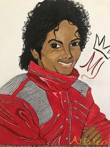 Michael Jackson painting 20x26