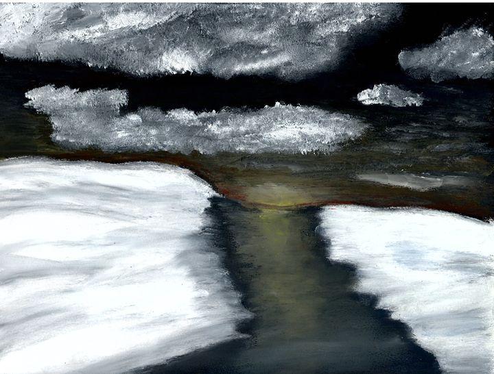 midnight winter - landscapes