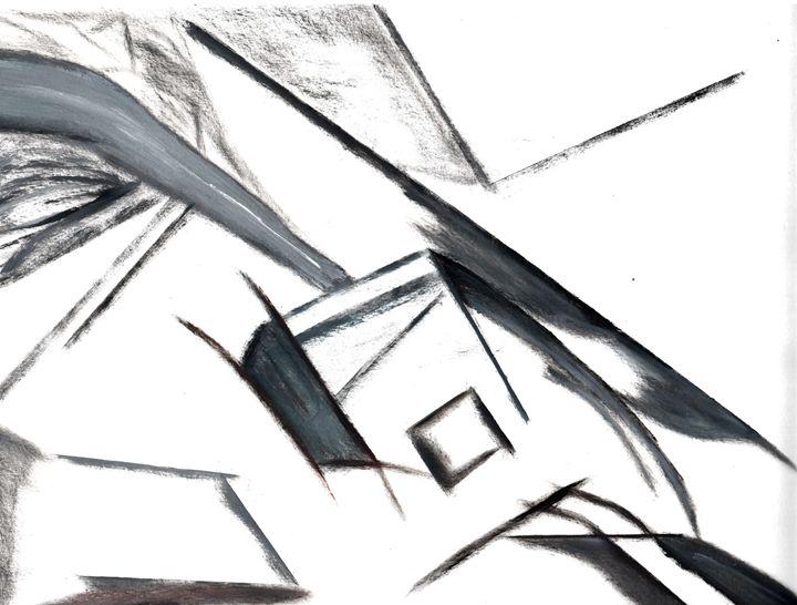 Black cubes - landscapes