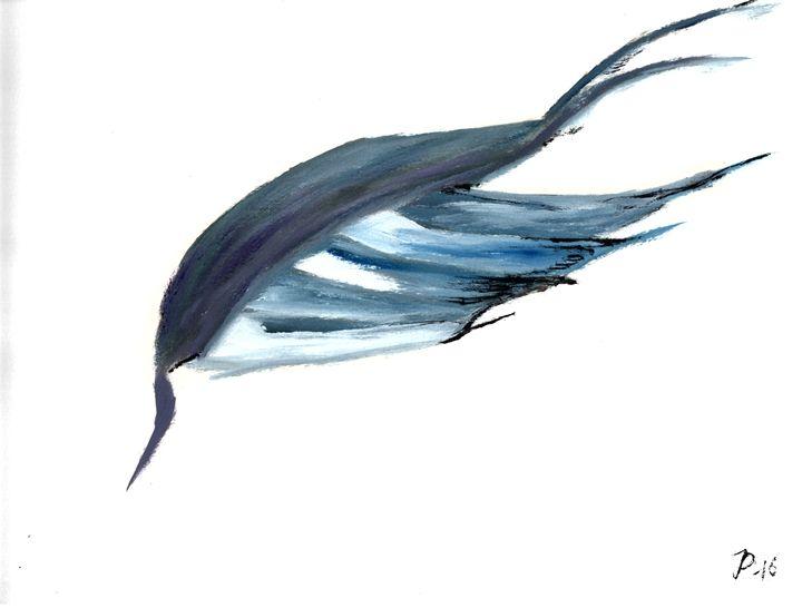 Blue wing - landscapes