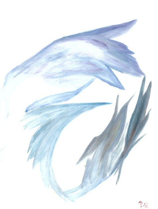 Blue waves - landscapes