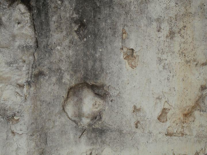 Rendered stone wall - Simon Goodwin