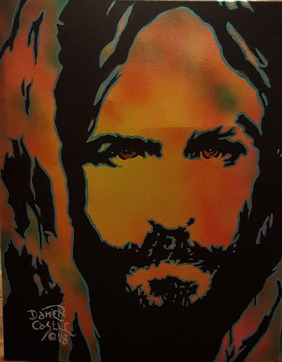 Jesus Christ portrait - Dark Castle Art