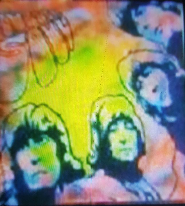 Rubber Soul The Beatles - Dark Castle Art