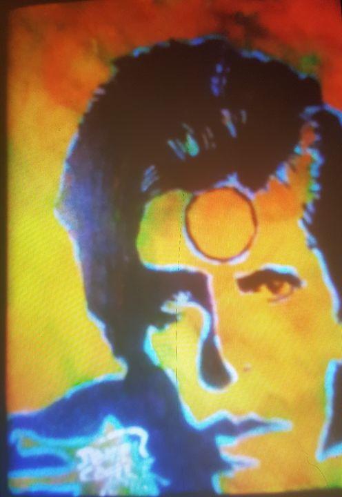 David Bowie Aladdin Sane #5 - Dark Castle Art