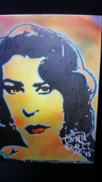 Elizabeth Taylor - Dark Castle Art