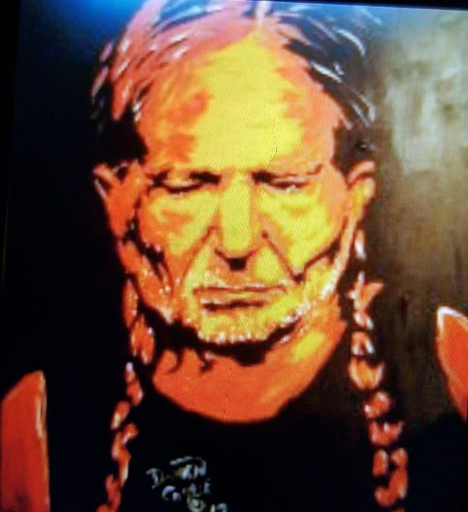 Willie Nelson #1 - Dark Castle Art