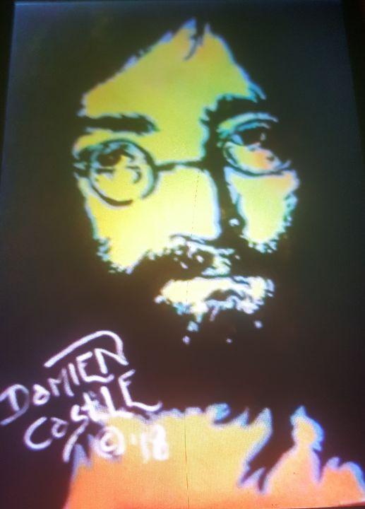 John Lennon portrait - Dark Castle Art