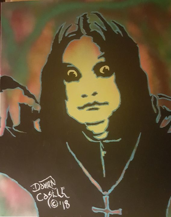 Ozzy Osbourne #7 - Dark Castle Art
