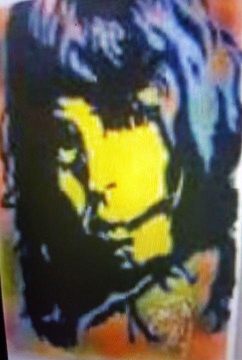 Mick Jagger - Dark Castle Art