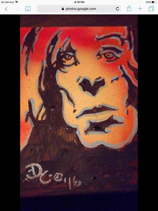 Iggy Pop #2 - Dark Castle Art