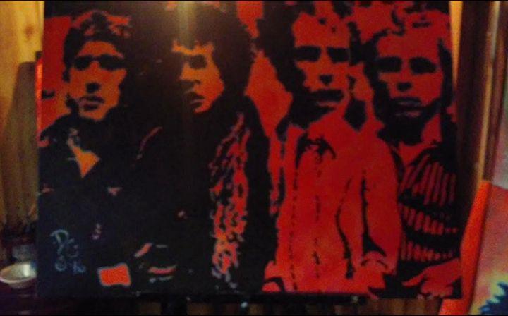 The Sex Pistols - Dark Castle Art