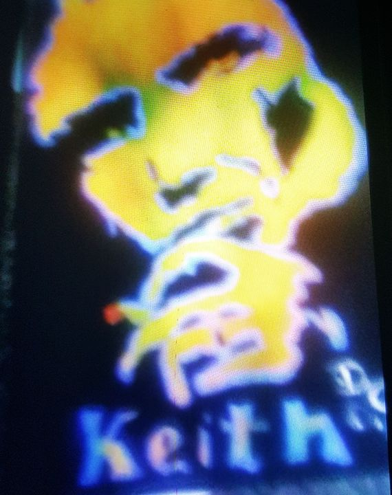 Keith Richards Keith - Dark Castle Art