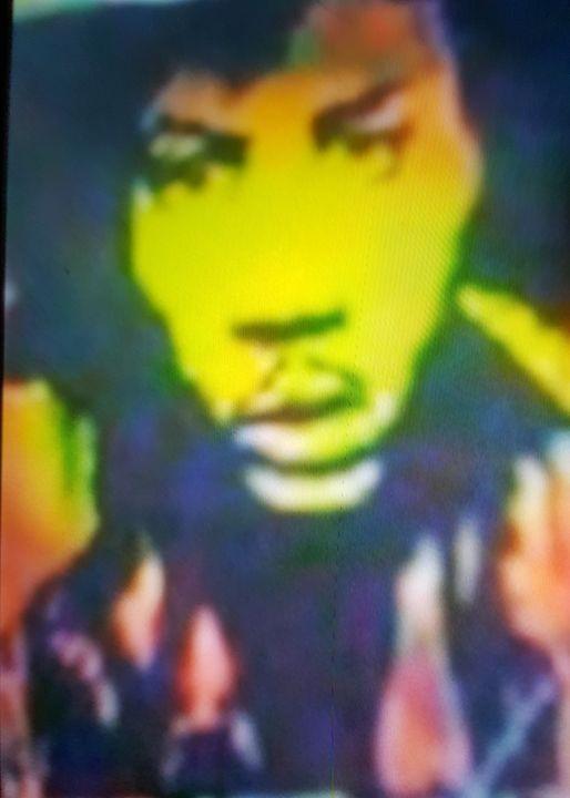 Jimi Hendrix #7 - Dark Castle Art