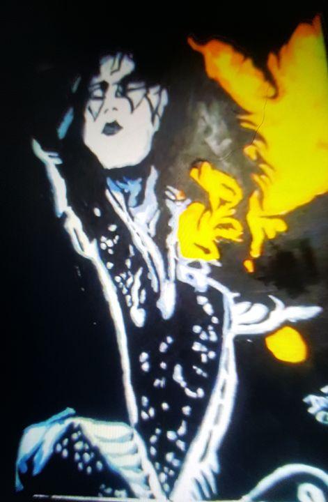 Ace Frehley of KISS #3 - Dark Castle Art