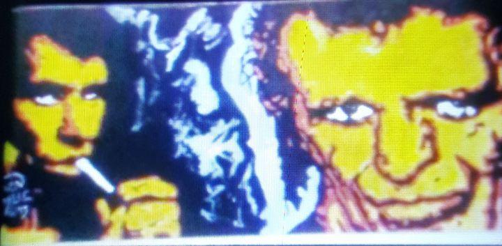 A Double Shot of Keith Richards - Dark Castle Art