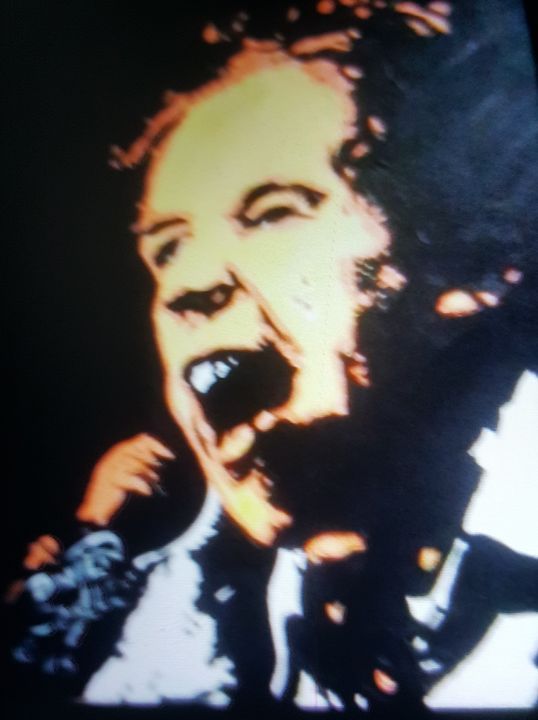 Johnny Rotten The Sex Pistols - Dark Castle Art