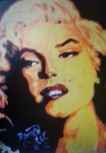 Marilyn Monroe portrait #2 - Dark Castle Art